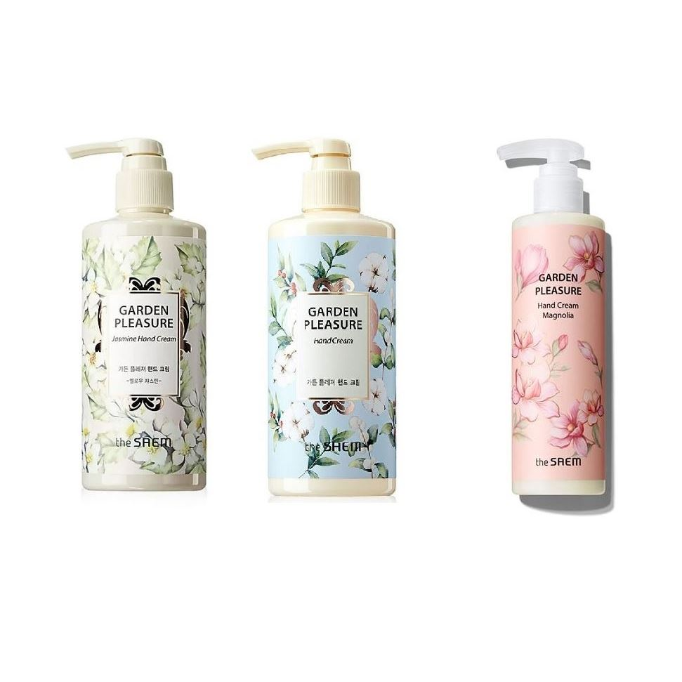 Крем The Saem Garden Pleasure Hand Cream (Mellow Jasmine) крем для рук lm mini pet hand cream 04 fruity floral 30 мл the face shop