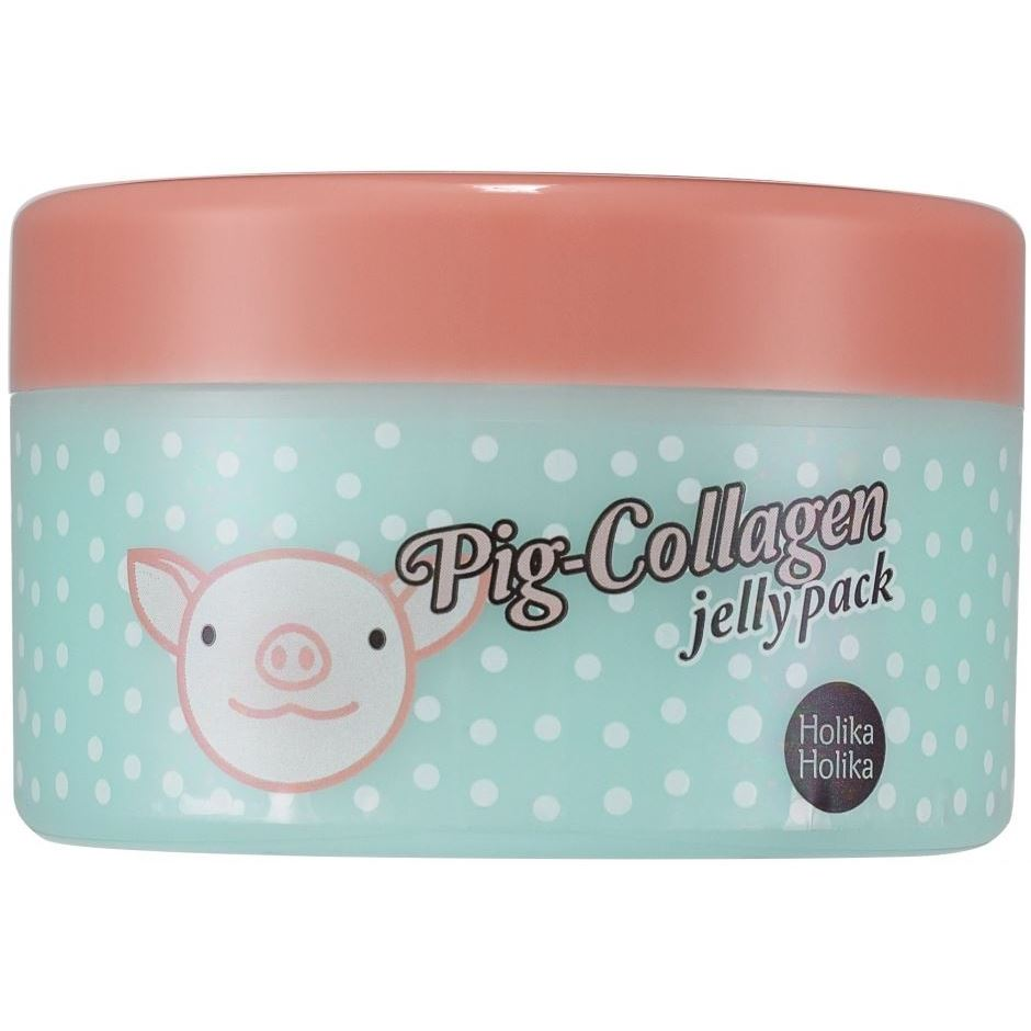 Маска Holika Holika Pig Collagen Jelly Pack (80 г) маска holika holika ночная маска для лица пиг коллаген джелли пэк holika holika