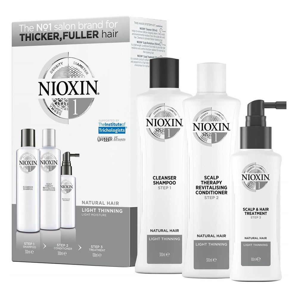 Набор Nioxin Hair System Kit 1 50 мл