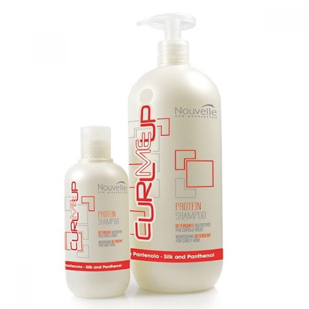 Шампунь Nouvelle Curl Me Up Protein Shampoo  250 мл шампунь nouvelle every day herb shampoo 250 мл
