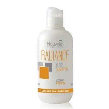 Шампунь Nouvelle Radiance Gloss Shampoo  250 мл спрей nouvelle gloss philosophy heat protector 150 мл