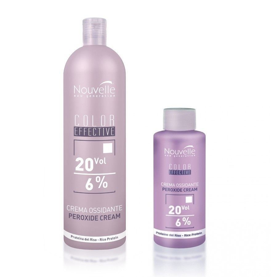 Оксидант Nouvelle Cream Peroxide  (40 Vol - 12% (1000 мл)) краска для волос nouvelle decoflash 500 гр