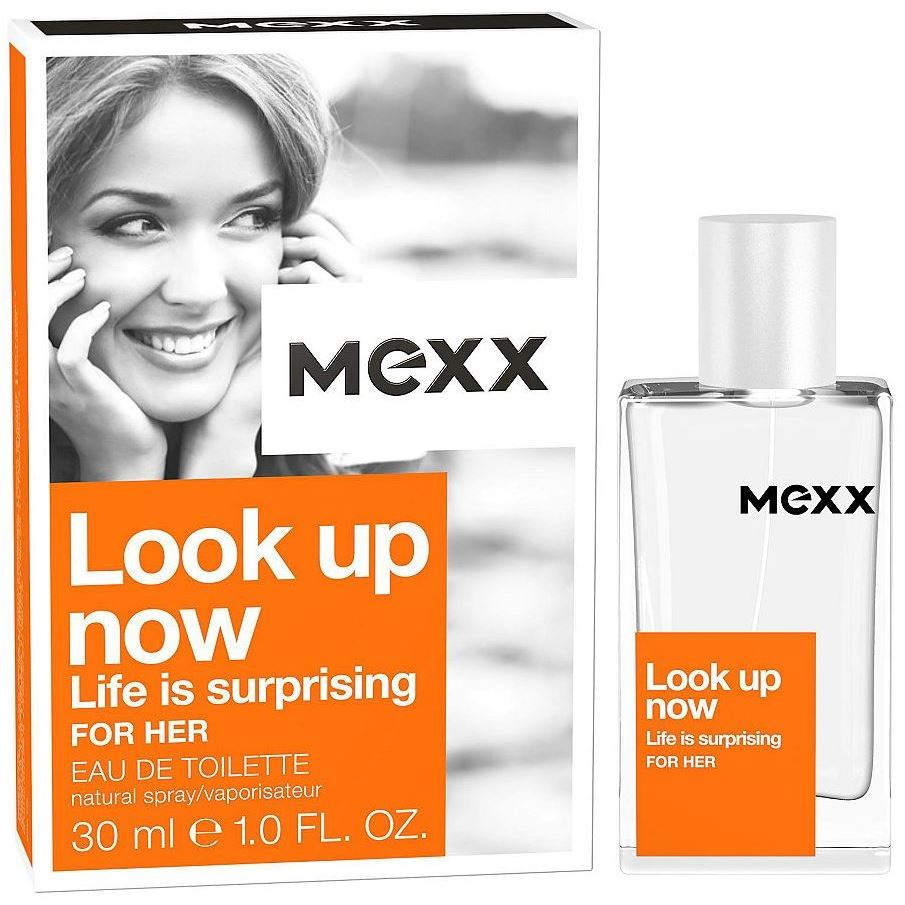 Туалетная вода Mexx Look Up Now Life Is Surprising for Her mexx life is now w edt spr 30 мл