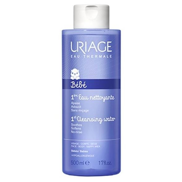 Вода Uriage Bebe 1st Cleansing Water 500 мл the yeon canola honey polish water вода увлажняющая для лица 270 мл