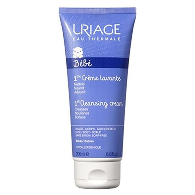 Набор: Крем Uriage Bebe 1st Cleansing Cream пенка uriage gyn phy intimate cleansing mist without rinsing