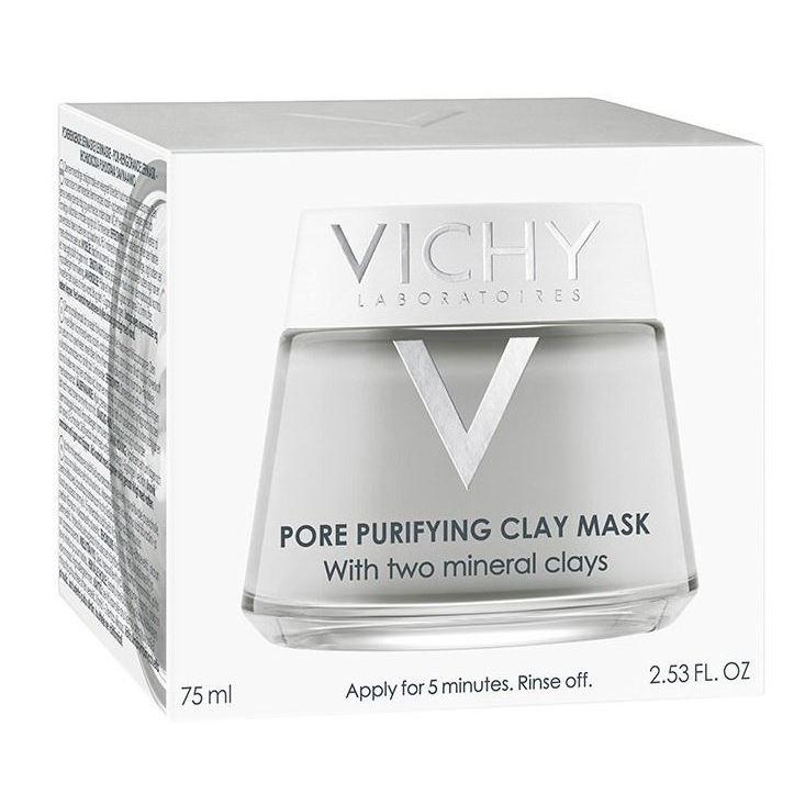 Маска VICHY Очищающая поры маска 75 мл маска algologie крем маска очищающая объем 75 мл