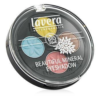 Тени для век Lavera Beautiful Mineral Eyeshadow Quattro (07) тени для век essence тени хайлайтер hi lighting eyeshadow mousse 01 цвет 01 hi ivory variant hex name fdece4