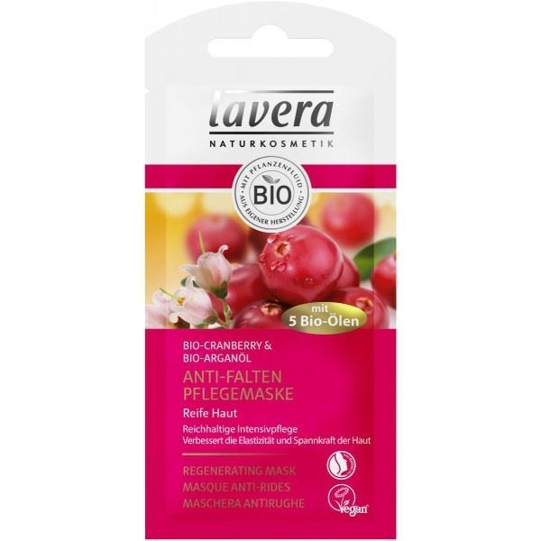 Маска Lavera Purifyng Cleansing Mask Organic Cranberry & Argan oil маска анти oil фрэш биобьюти