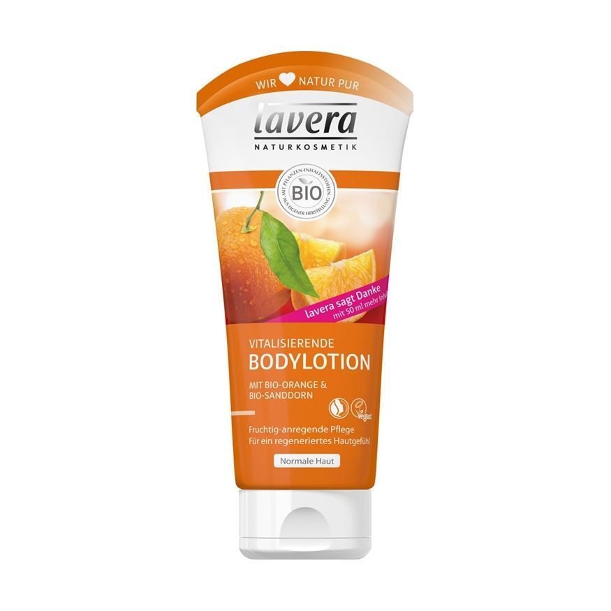 Лосьон Lavera Refreshing Body Lotion with Orange & Sanddorn 200 мл лосьон для тела zeitun honey verbena light body lotion объем 200 мл