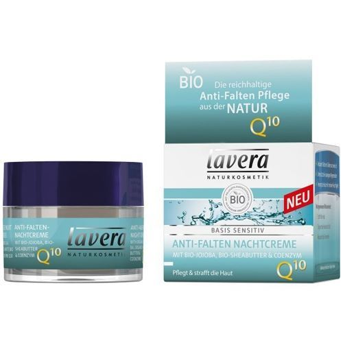 Крем Lavera Anti-Ageing Night Cream Q10 50 мл mac pigment рассыпчатые тени kitschmas