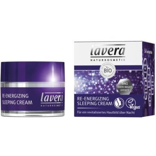 Lavera Re-Energizing Sleeping Cream for a revitalised skin overnight
