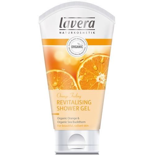 Гель для душа Lavera Revitalising Shower Gel Organic Orange & Organic Sea Buckthorn дезодорант lavera organic orange