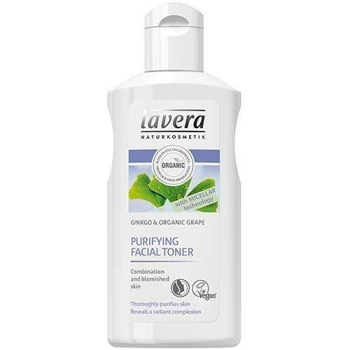 Маска Lavera Purifying Facial Toner with Micellar technology 125 мл очищающий био скраб для лица lavera