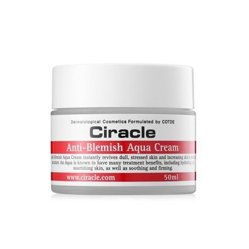 Крем Ciracle Anti-Blemish Aqua Cream крем с пантенолом для лица в аптеке