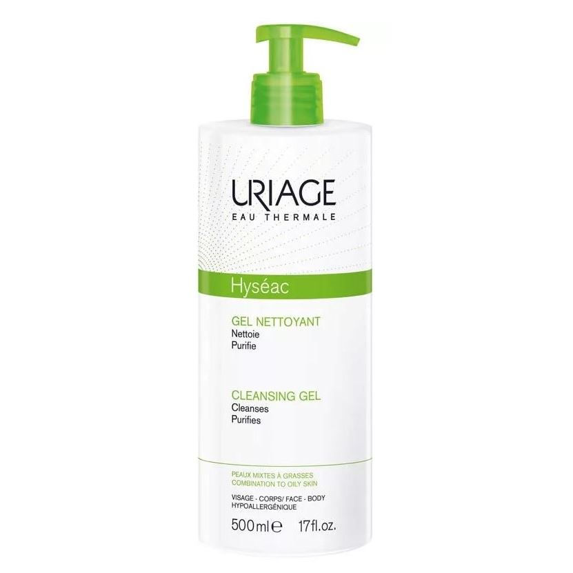 Гель Uriage Hyseac Cleansing Gel For Combination To Oily Skin недорого