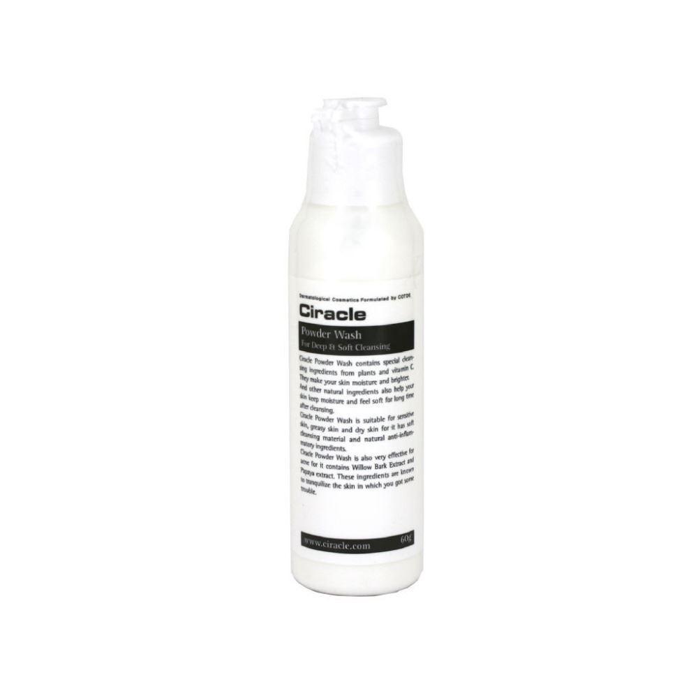 Пудра Ciracle Powder Wash For Deep & Sof Cleansing (60 г) mac splash and last pro longwear powder устойчивая компактная пудра dark tan