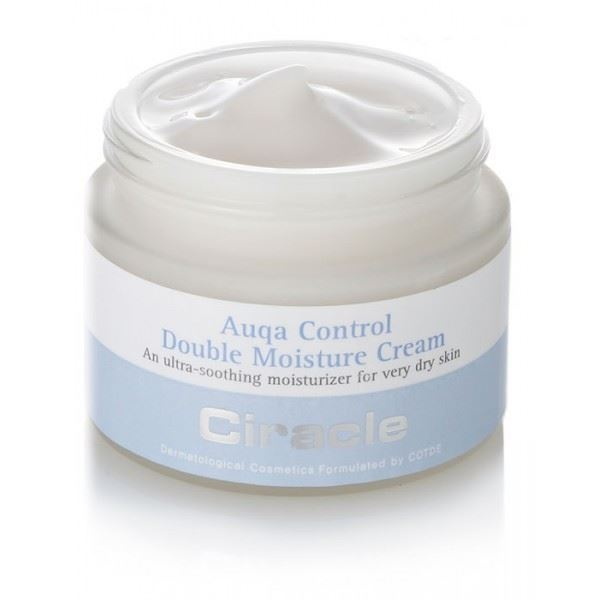 Крем Ciracle Aqua Control Double Moisture Cream 50 мл the yeon lotus roots 365 moisture bubble cream крем для лица увлажняющий 50 мл