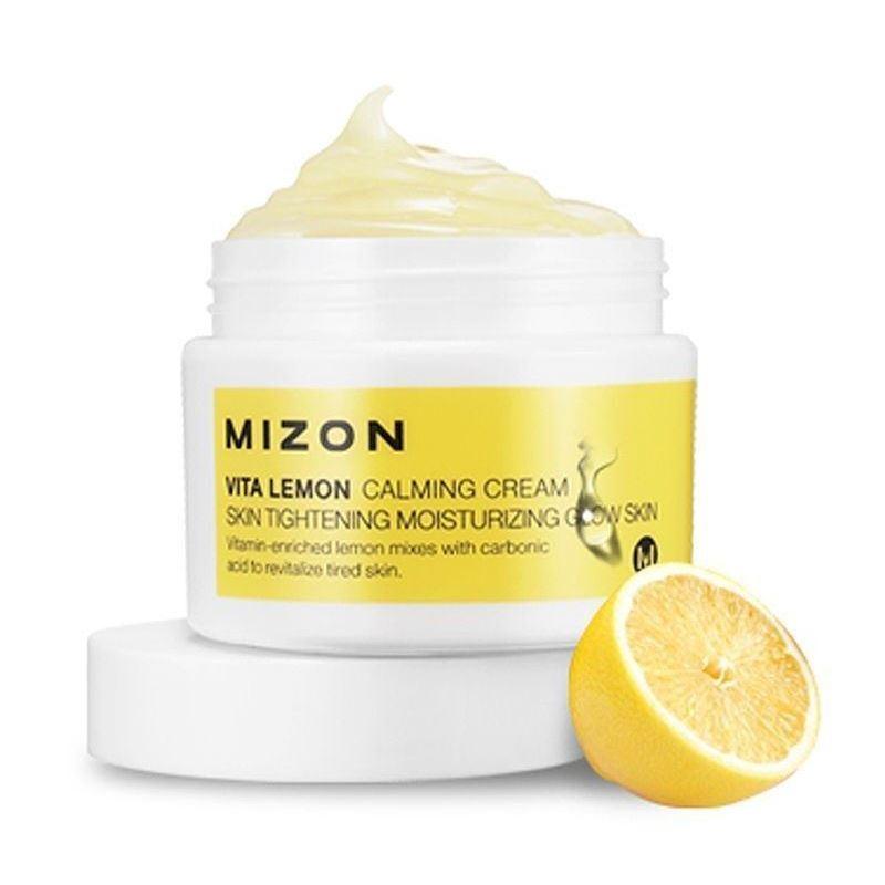 Крем Mizon Vita Lemon Calming Cream крем с витамином с для лица в аптеке