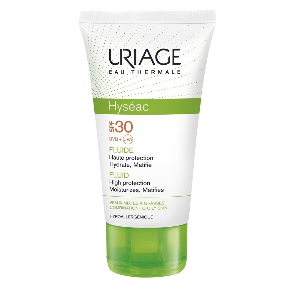 Эмульсия Uriage Hyseac Fluid High Protection SPF 30 For Combination To Oily Skin 50 мл недорого