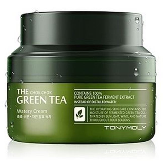 Крем Tony Moly The Chok Chok Green Tea Watery Cream крем tony moly the black tea london classic eye cream
