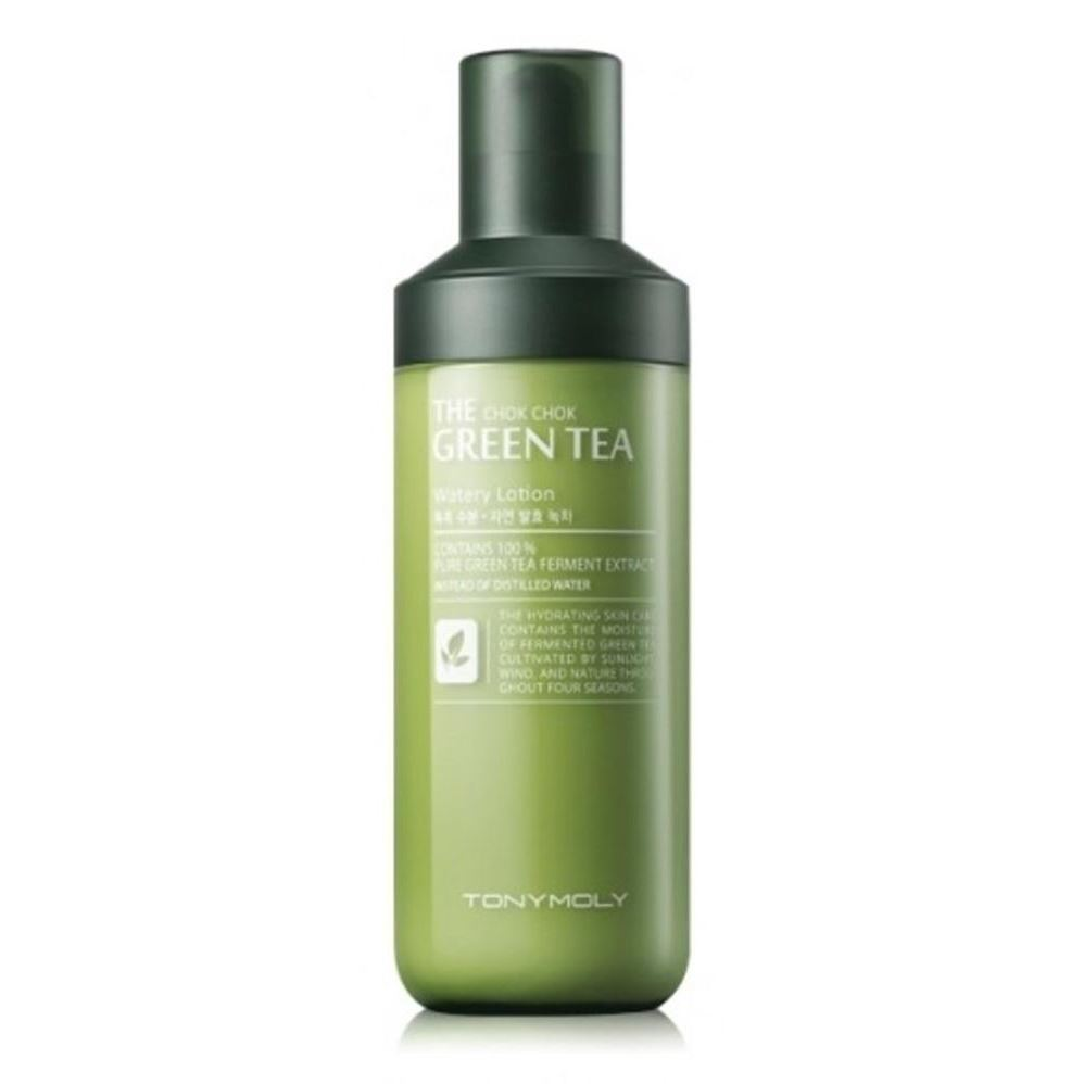 Лосьон Tony Moly The Chok Chok Green Tea Watery Lotion 160 мл гидрофильное масло it s skin green tea calming cleansing oil объем 145 мл