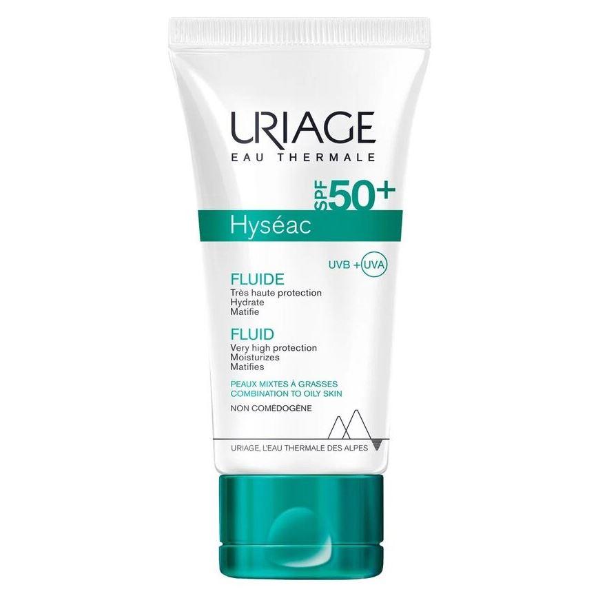 Эмульсия Uriage Hyseac Fluid High Protection SPF 50+ For Combination To Oily Skin 50 мл недорого