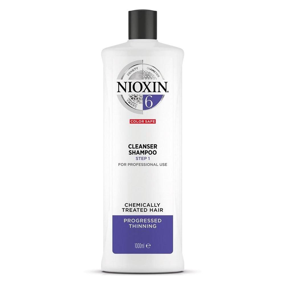 Шампунь Nioxin Cleanser Shampoo 6 300 мл senscience senscience шампунь для нормальных волос shampoos and conditioners balance shampoo 42456 300 мл