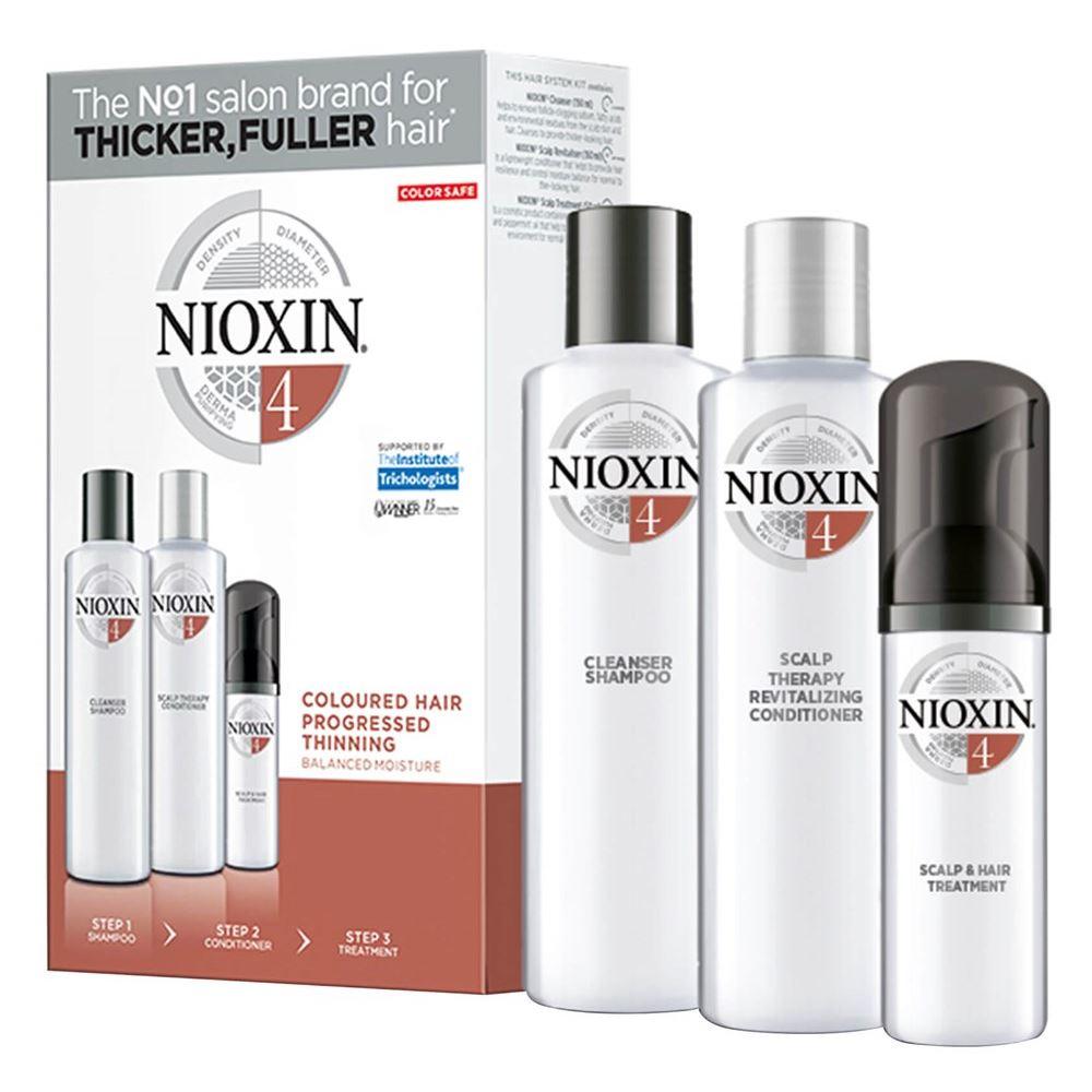 Набор: Кондиционер Nioxin Hair System Kit 4 XXL присадка liqui moly benzin system pflege для ухода за бензиновой системой впрыска 0 3 л