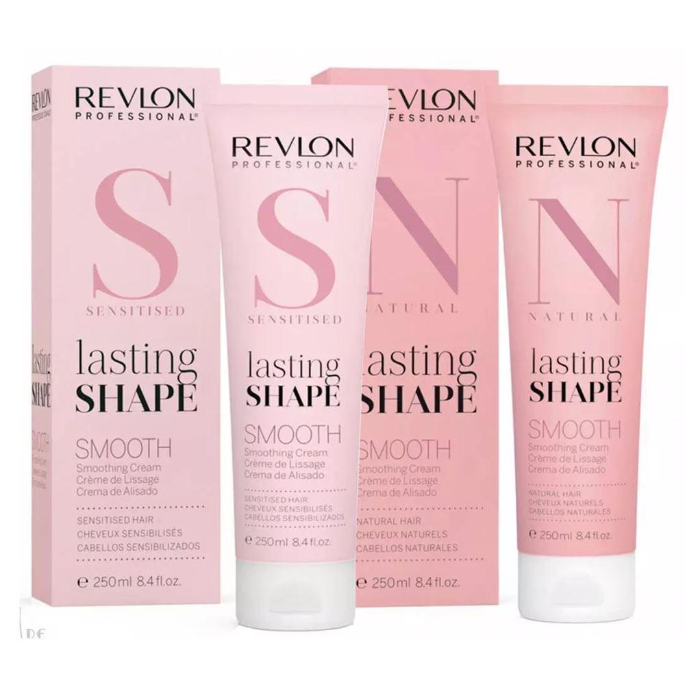 Крем Revlon Professional Lasting Shape TM Smooth (Smooth Cream Sentisised Hair) ollin professional крем моделирующий средней фиксации для волос medium fixation hair styling cream style 200мл