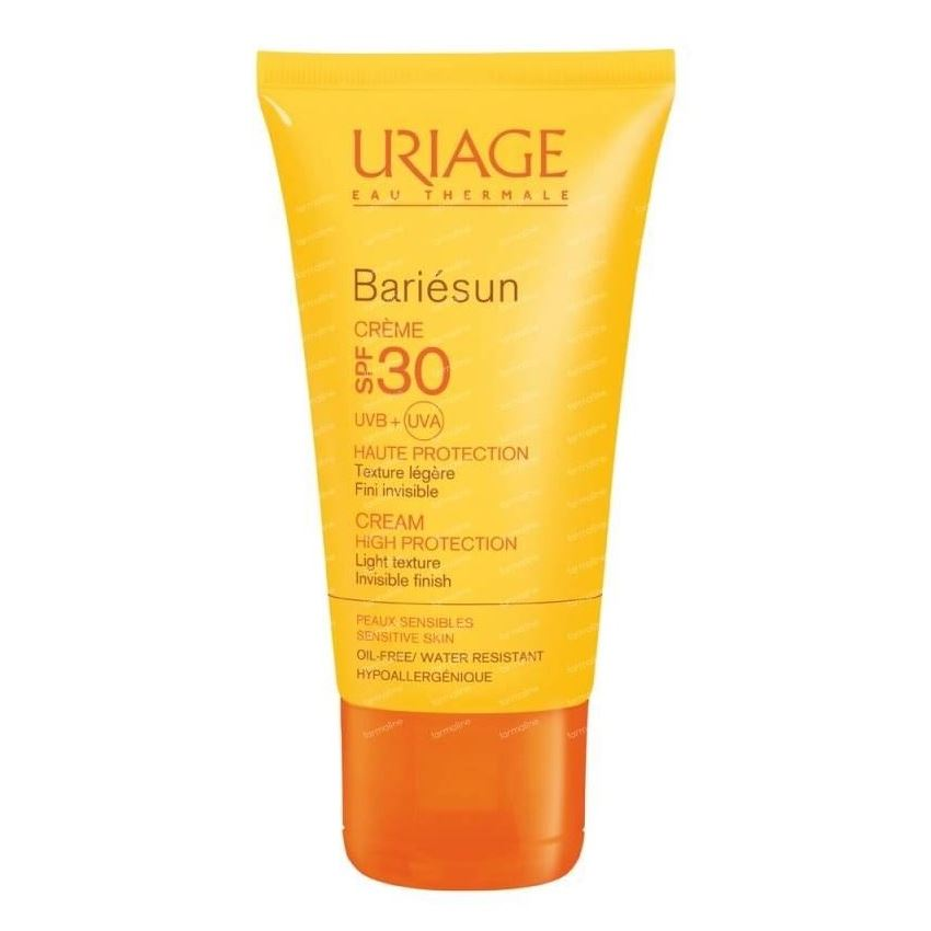Крем Uriage Bariesun Cream SPF 30 50 мл тональный крем uriage bariesun tinted cream spf 50 50 мл
