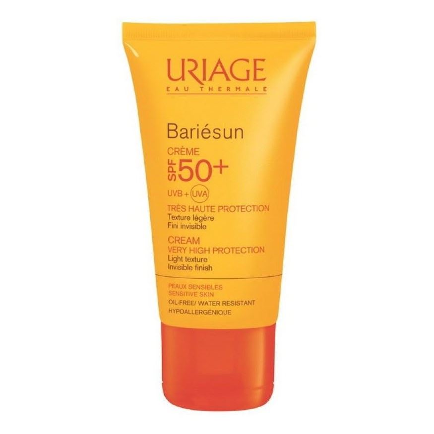 Крем Uriage Bariesun Cream SPF 50+ 50 мл тональный крем uriage bariesun tinted cream spf 50 50 мл