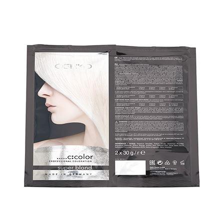 Краска для волос C:EHKO Super Blond (2 * 30 г (саше))