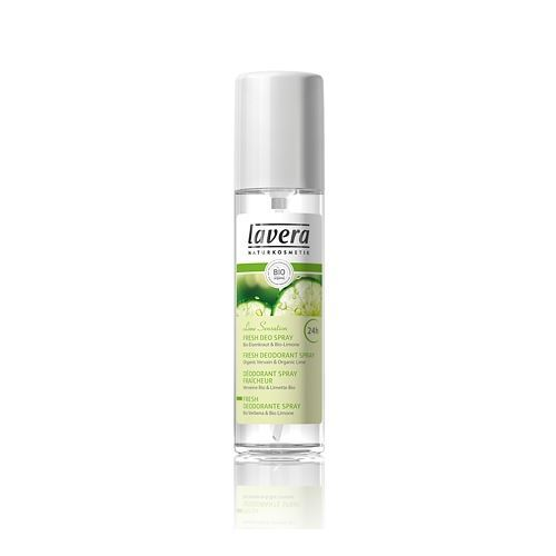 Дезодорант Lavera Fresh Deo Spray Lime Sensation дезодорант lavera organic orange