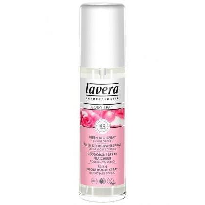 все цены на Дезодорант Lavera Fresh Deo Spray Bio-Wildrose 75 мл