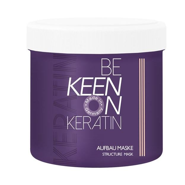 Маска Keen Keratin Aufbau Maske 500 мл sea of spa маска питательная восстанавливающая для сухих окраш волос с маслом арганы и ши 500 мл