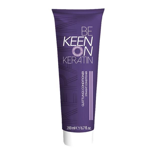 Кондиционер Keen Keratin Glattungs Conditioner 200 мл бальзам keen keratin leave in balsam 200 мл