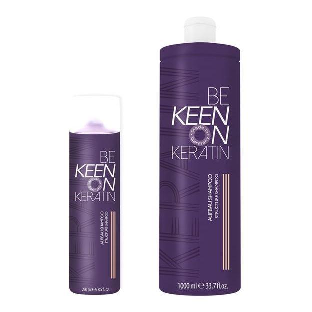 Шампунь Keen Keratin Aufbau Shampoo 250 мл шампунь nouvelle every day herb shampoo 250 мл