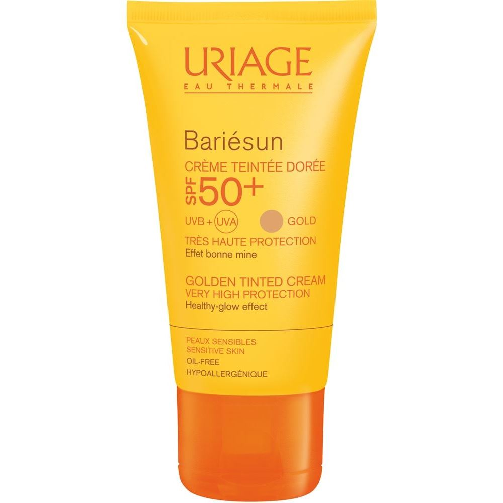 Тональный крем Uriage Bariesun Tinted Cream SPF 50 50 мл тональный крем uriage bariesun tinted cream spf 50 50 мл