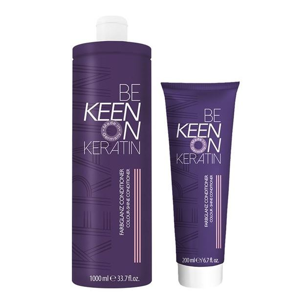 Кондиционер Keen Keratin Farbglanz Conditioner  1000 мл mac studio waterweight foundation тональная основа spf30 nc25