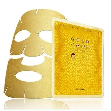 Маска Holika Holika Prime Youth Gold Caviar Gold Foil Mask 25 мл маска holika holika honey sleeping pack blueberry 90 мл