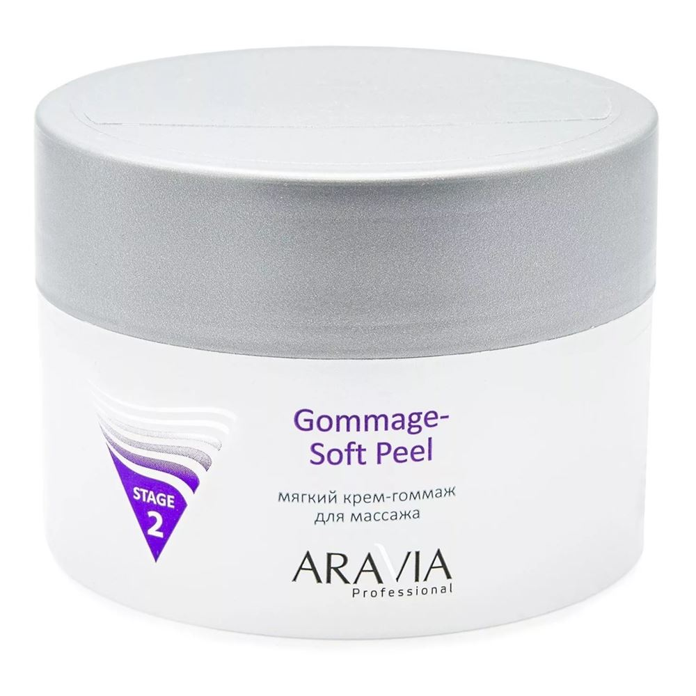 Крем Aravia Professional Gommage Soft Peel 300 мл скраб nuxe gommage corps fondant объем 200 мл