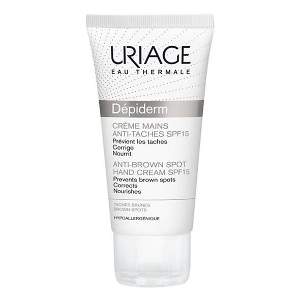 Крем Uriage Depiderm Anti-Brown Spot Hand Cream SPF 15 50 мл крем uriage isoliss cream