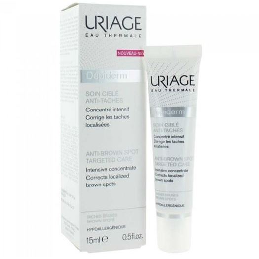 Крем Uriage Depiderm Anti-Brown Spot Targeted Care 15 мл uriage depiderm spf 15 30 мл
