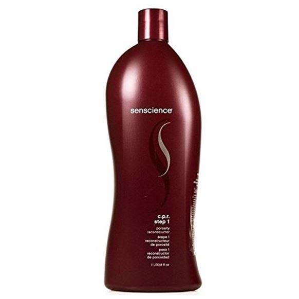 Концентрат Senscience C.P.R. Cuticle Porosity Reconstructor Step 1 1000 мл senscience senscience шампунь для нормальных волос shampoos and conditioners balance shampoo 42456 300 мл