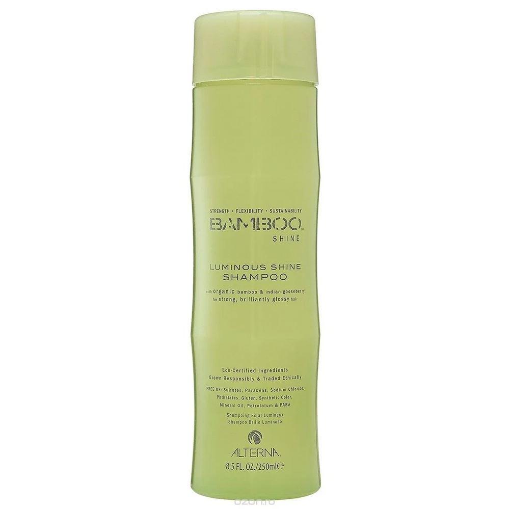 Шампунь Alterna Shine Shampoo 40 мл alterna спрей вуаль для сияния и блеска волос bamboo shine 100 мл