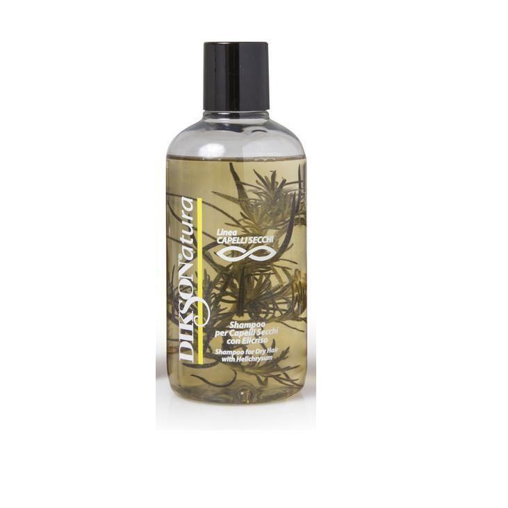 Шампунь Dikson Shampoo With Helichrysum 250 мл dikson укрепляющий шампунь с гидрализованными протеинами риса для нормальных волос 1000 мл