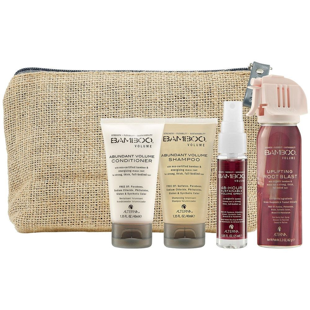 Набор Alterna On-the-Go Travel Set (Набор: шампунь, 40 мл+кондиционер, 40 мл+спрей 48ч., 25 мл+спрей, 62 мл) набор косметический pro on the go