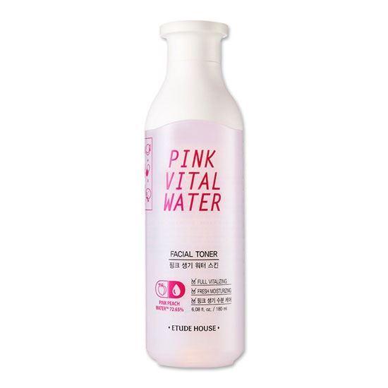 Концентрат Etude House Pink Vital Water Toner 180 мл патч очищающий для носа 0 65 мл etude house