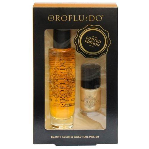 Набор: Набор Orofluido Orofluido Beauty Elixer & Gold Nail Polish набор набор orofluido orofluido beauty set exclusive edition asia