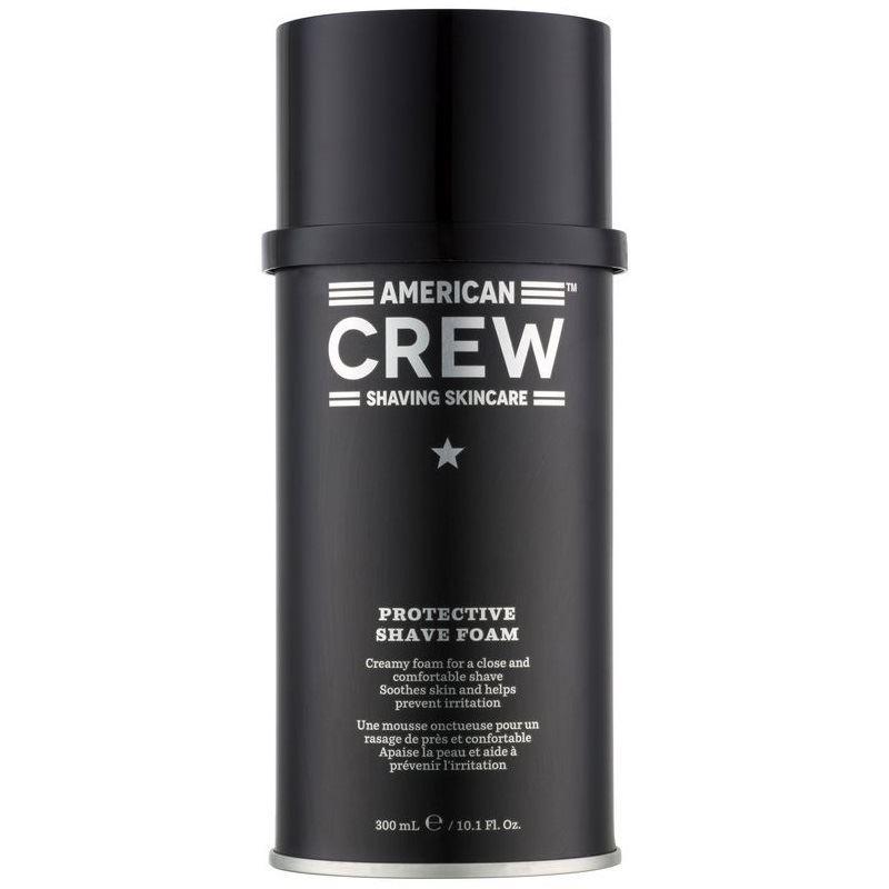 Пена American Crew Protective Shave Foam Shaving Skincare 300 мл для бритья proraso shaving foam moisturizing and nourishing formula объем 300 мл